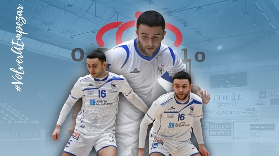 Miguel Caeiro será jugador del primer equipo de O Parrulo Ferrol