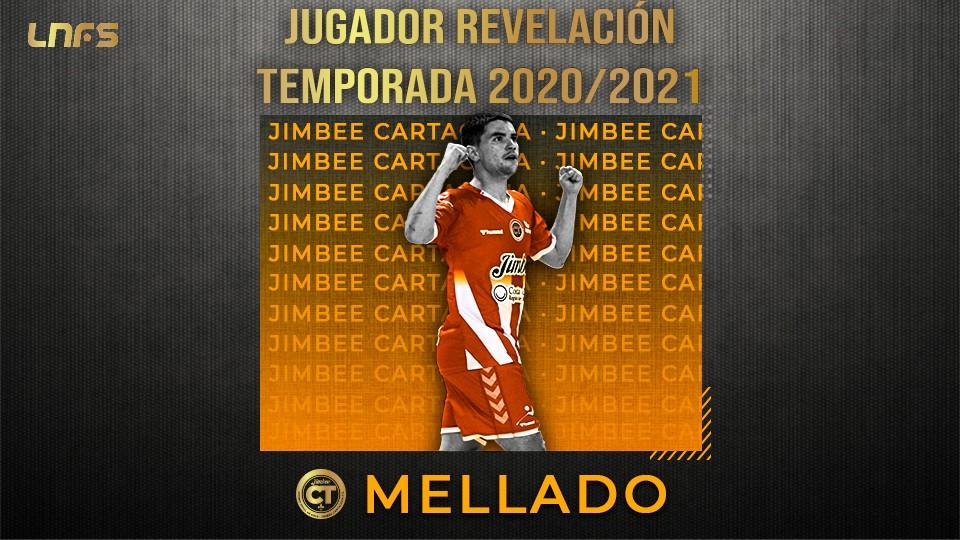 Mellado, 'Jugador Revelación' de la Temporada 20/21