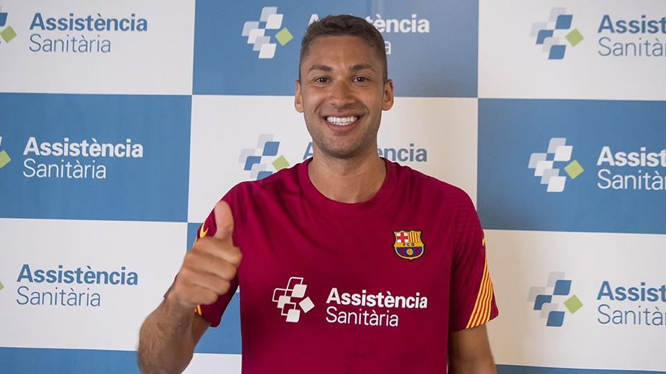 Pito, nuevo jugador del Barça.