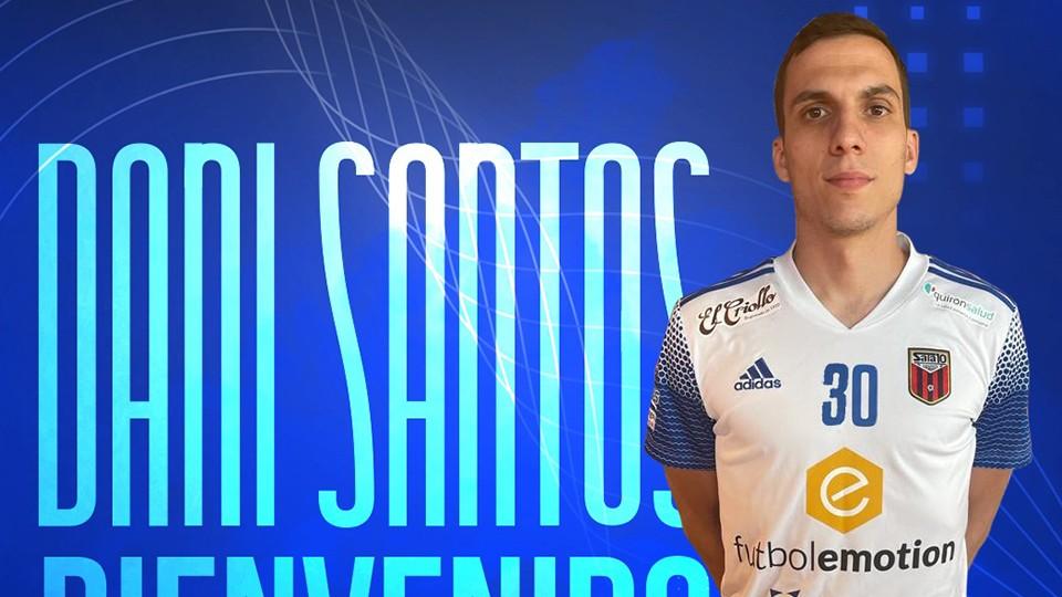 Dani Santos, segundo fichaje del Fútbol Emotion Zaragoza