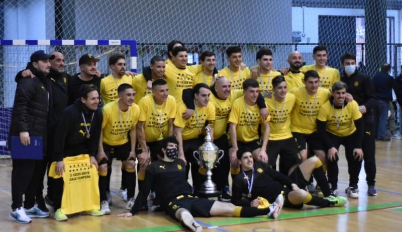 Peñarol logró su undécimo título en Uruguay. Foto: El Show del Fútbol Sala
