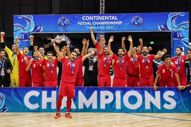 Irán mostró su potencia en el torneo internacional que se disputó en Bangkok