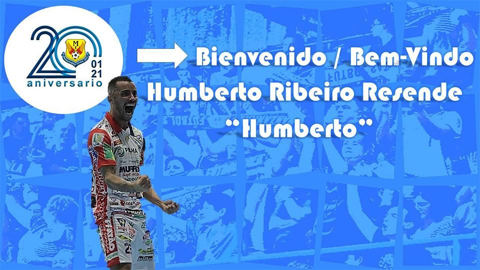 El Manzanares FS Quesos El Hidalgo ficha a Humberto Ribeiro