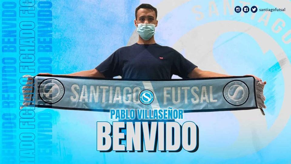 Pablo Villaseñor, nuevo jugador del Santiago Futsal.