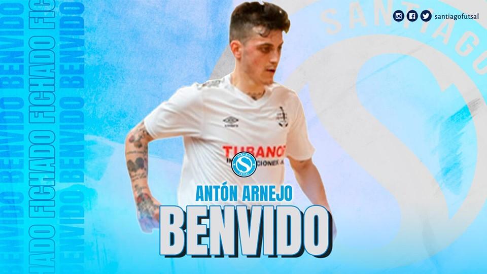 Antón Arnejo, nuevo jugador de Santiago Futsal