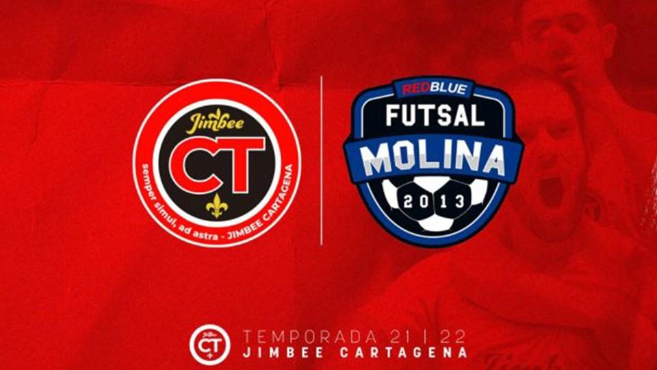 Jimbee Cartagena y la Academia Red Blue Futsal Molina renuevan su acuerdo de filialidad