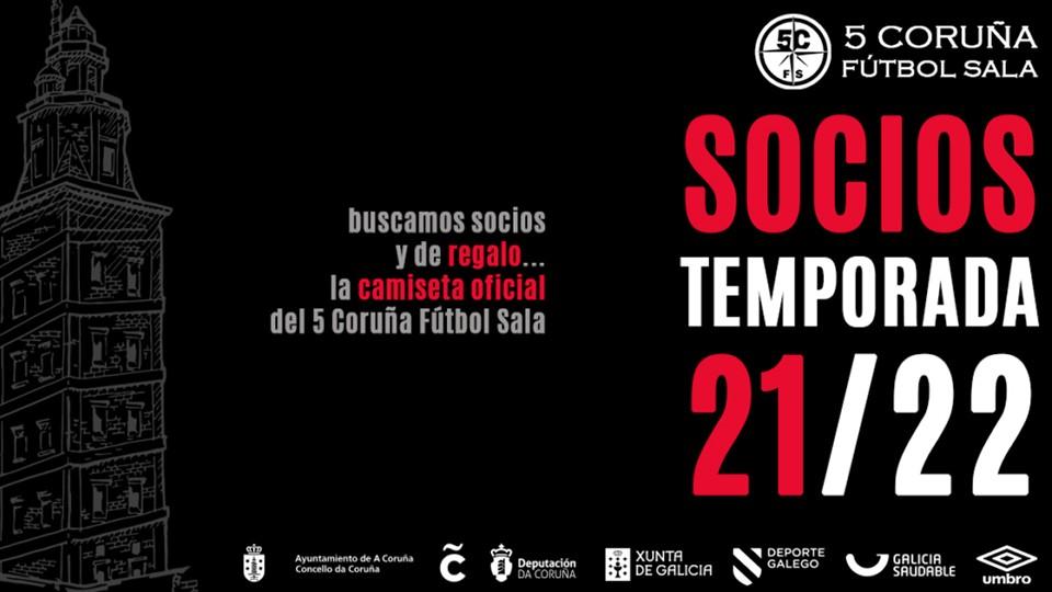 La Academia Red Blue 5 Coruña lanza su campaña de socios