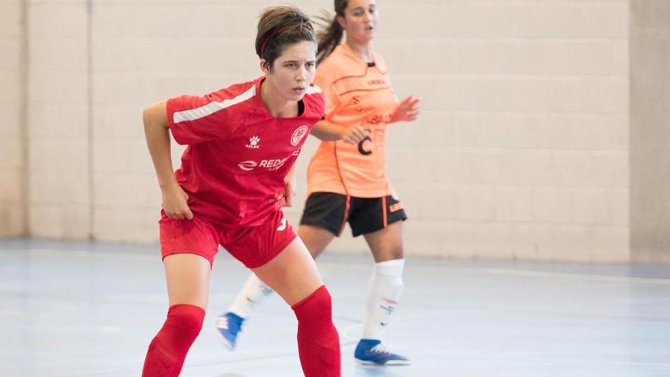 Rocío Tasende, jugadora de la Academia Red Blue 5 Coruña.