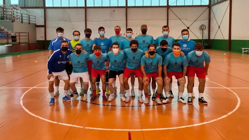 El Villalba será el primer rival de pretemporada para el senior de la Academia Red Blue 5 Coruña