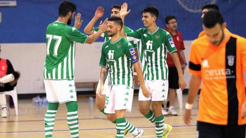 Mejoría y victoria del Real Betis Futsal en el segundo test de pretemporada contra UA Ceutí (4-1)