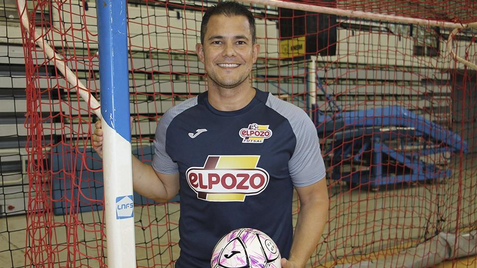 Vinicius, segundo entrenador de ElPozo Murcia Costa Cálida.