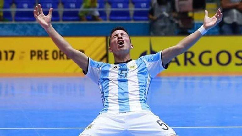 Maxi Rescia (Levante), uno de los jugadores claves de Argentina