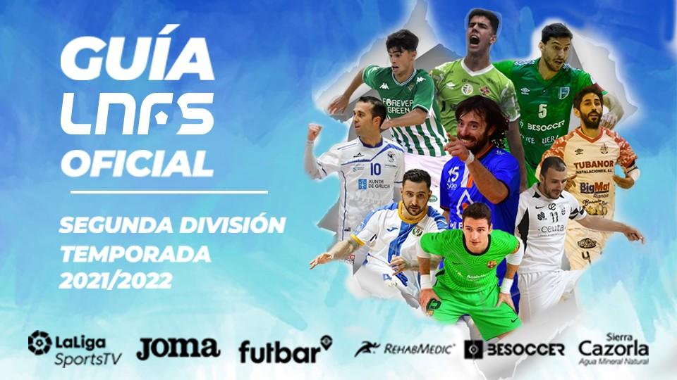 Guía Oficial LNFS Segunda División 21/22.
