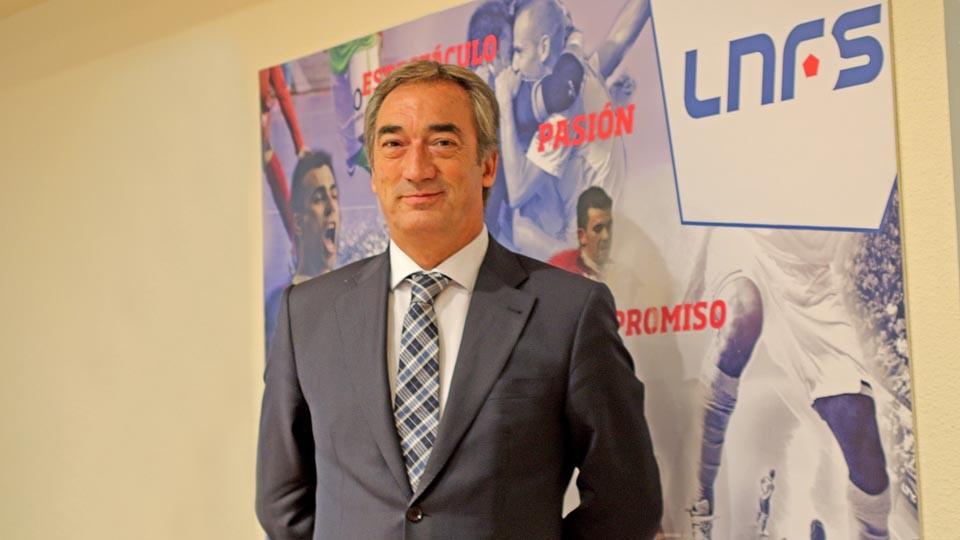 Javier Lozano afronta su cuarta legislatura al frente de la LNFS.