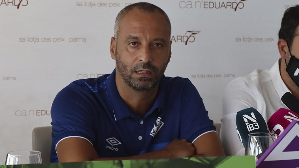 Vadillo, entrenador del Palma Futsal, analiza el I Memorial Miquel Jaume.