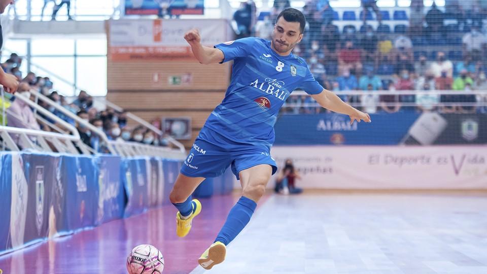 Lolo, jugador de Viña Albali Valdepeñas. (Foto ACP-FSV)