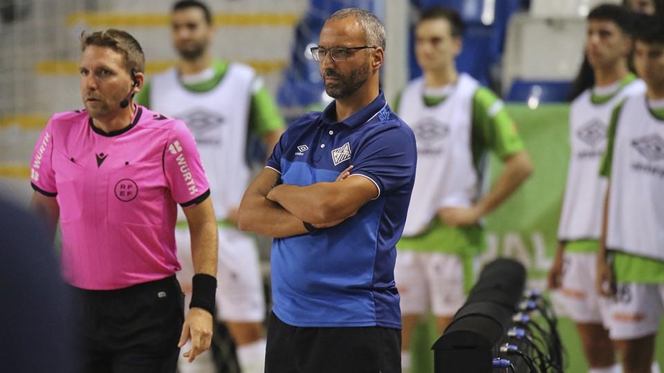 Vadillo, entrenador del Palma Futsal