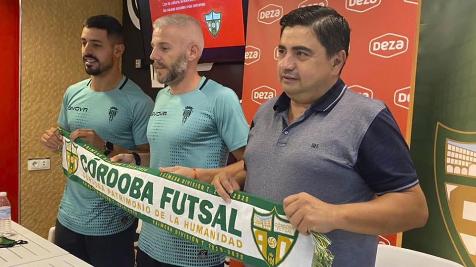 Miguelín, presentado oficialmente como nuevo jugador del Córdoba Patrimonio de la Humanidad