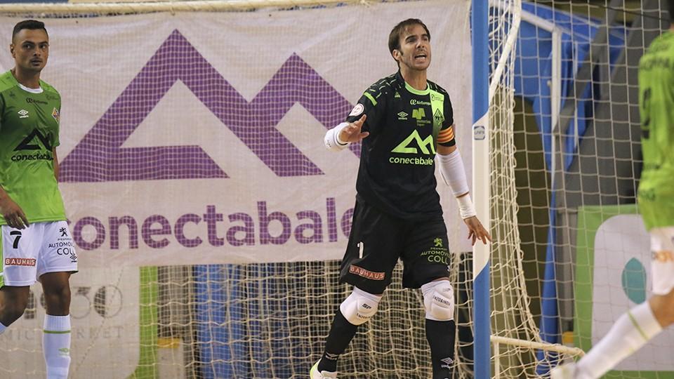 Carlos Barrón, capitán del Palma Futsal.