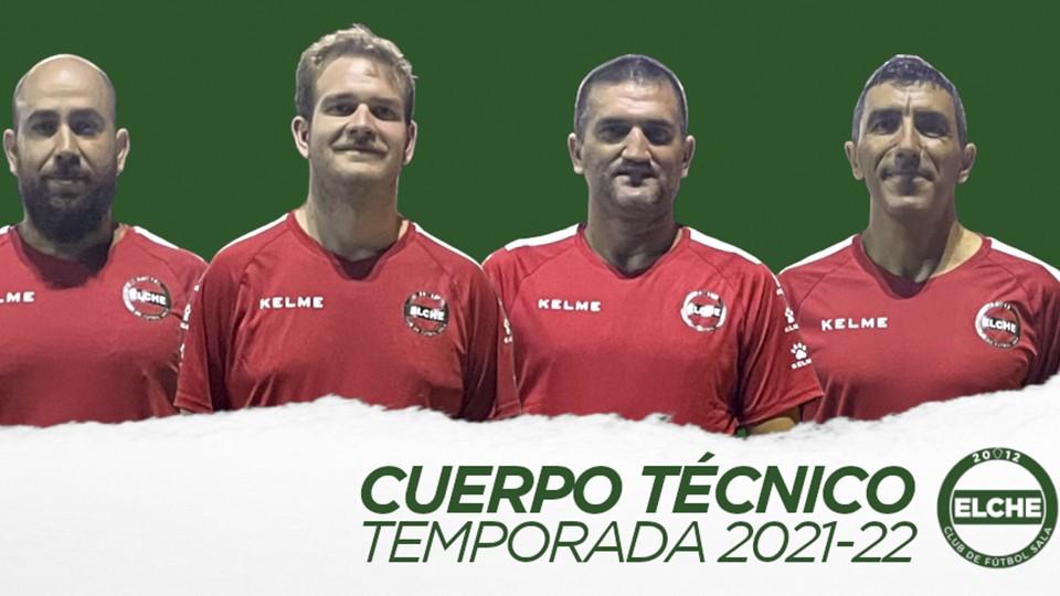 Un cuerpo técnico de categoría para el Elche Club de Fútbol Sala
