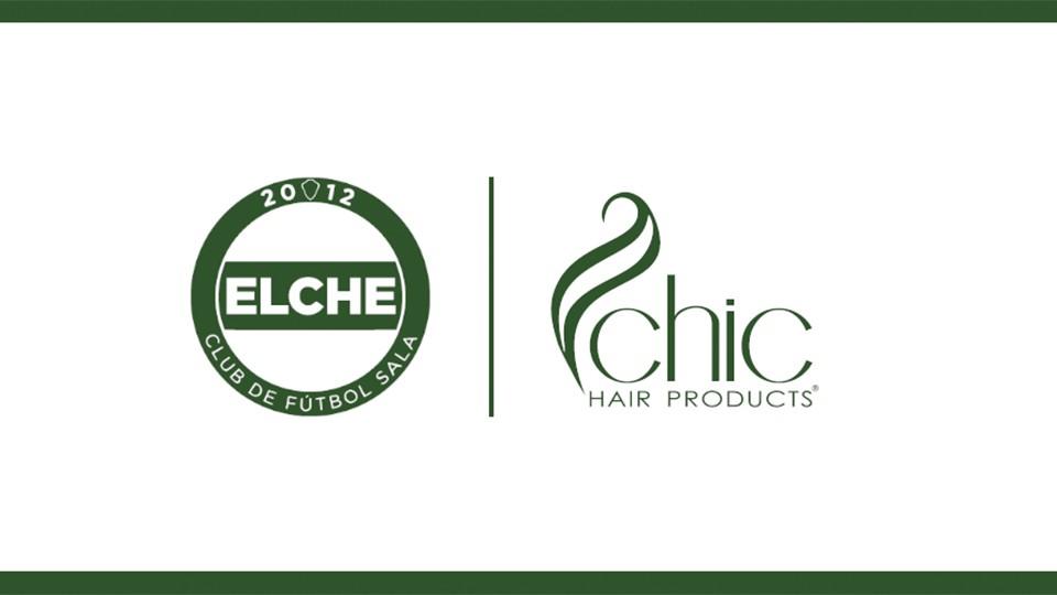 Chic Hair Products, nuevo patrocinador del Elche Club de Fútbol Sala