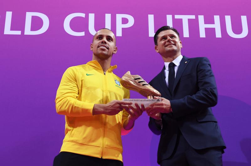 Ferrao, máximo goleador del Mundial de Lituania 2021