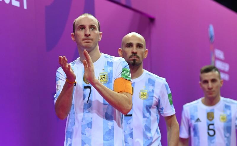Cuzzolino, capitán de Argentina en el Mundial de Lituania