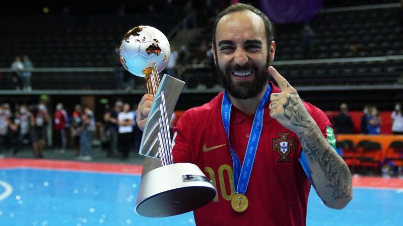 Ricardinho lideró a Portugal en la conquista de su primer Mundial
