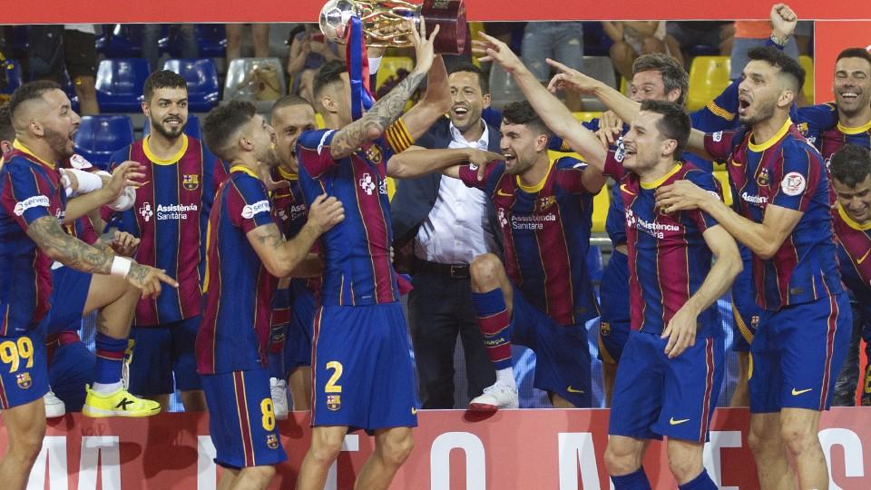 El Barça se proclamó Campeón de Liga.