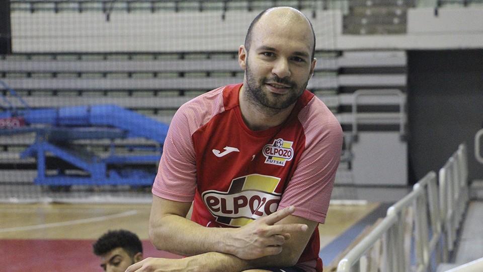 Taynan, jugador de ElPozo Murcia Costa Cálida.