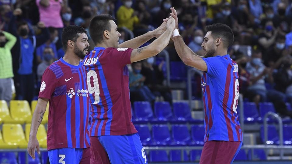 Barça-Real Betis Futsal y Levante UD-Burela FS juegan este martes la Jornada 4 por compromisos en Europa