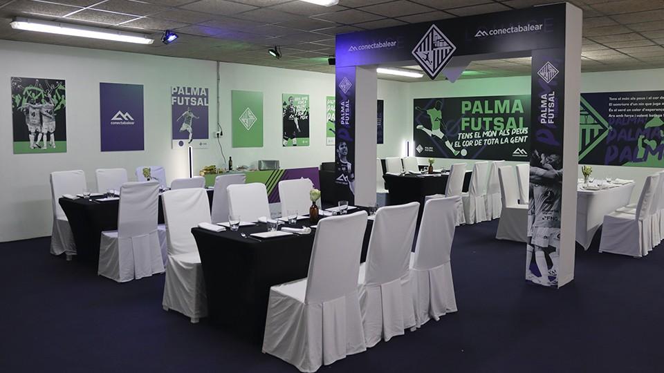Conecta Lounge, la nueva iniciativa social del Palma Futsal en Son Moix.