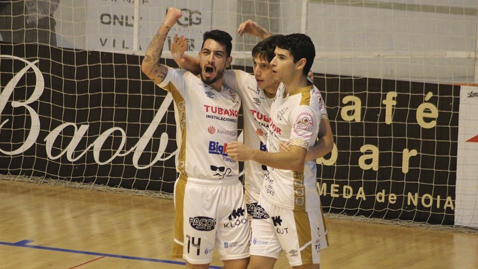 Las victorias ya son mayoría en Segunda División para el Noia Portus Apostoli