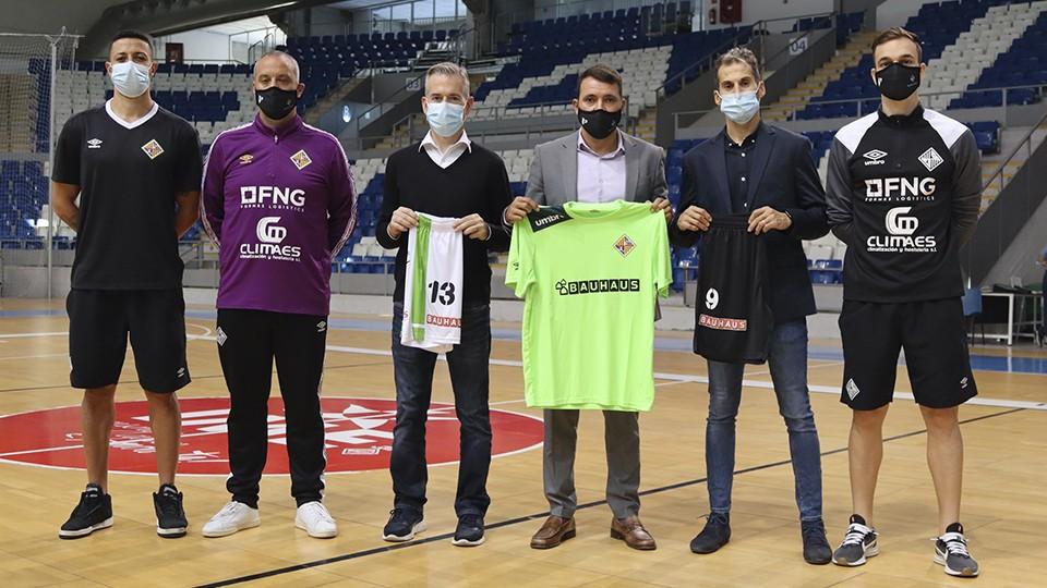 Palma Futsal y Bahaus llegan a un acuerdo de colaboración.