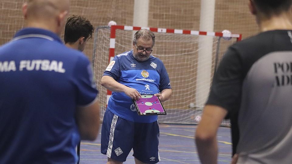 Miquel Vidal, entrenador del Visit Calviá Hidrobal.