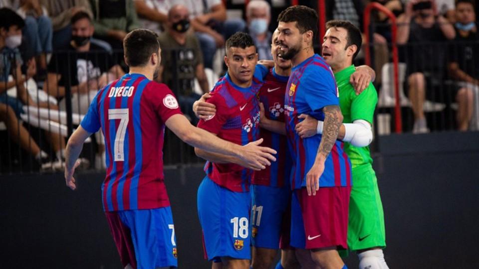 El Barça, centrado en la Main Round de la UEFA Futsal Champions League se estrena ante el Viten Orsha bielorruso