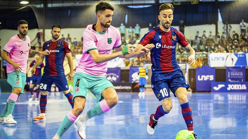 Levante UD FS y Barça se enfrentan este miércoles en la Main Round de la Champions