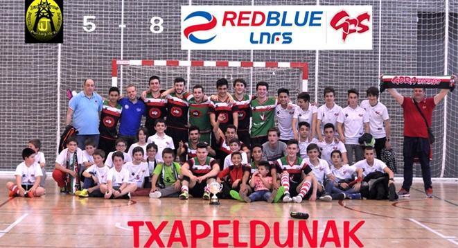 La Academia RedBlue Gora Bilbao se ha proclamado Campeón de Bizkaia Juvenil