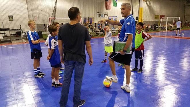 La 'Academia Red Blue Limones 5' le devuelve la visita a Chicago FC