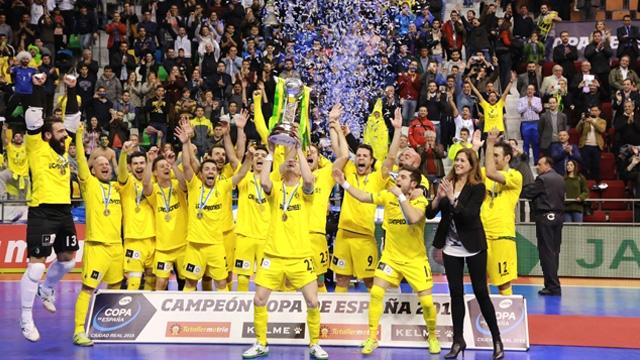 Jaén P. Interior conquista su primera Copa de España