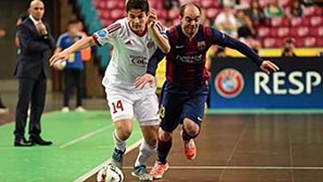 El FC Barcelona y Movistar Inter cayeron en la UEFA Futsal Cup