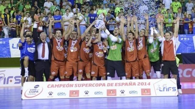 ElPozo Murcia alzó su V Supercopa de España