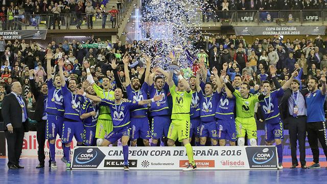 Movistar Inter reconquistó la Copa de España
