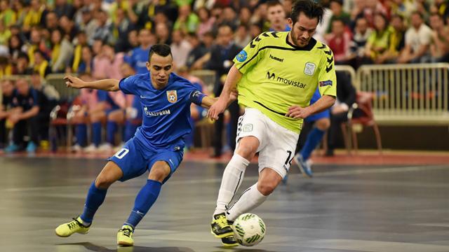 Movistar Inter no pudo con el Ugra Yugorsk YUGORSK en la final de la UEFA