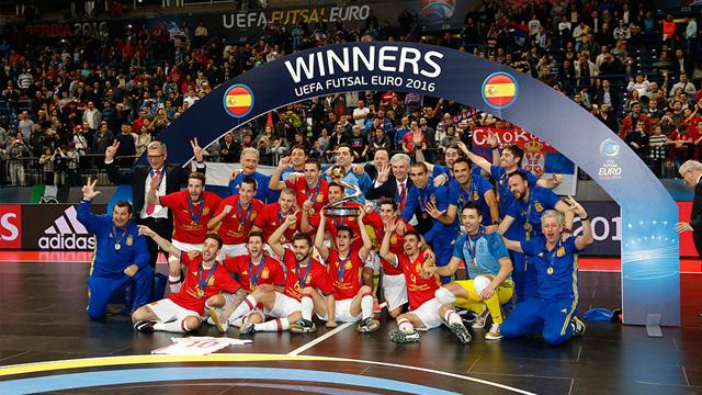 La Selección Española obtine su séptima Eurocopa