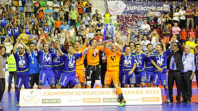 Movistar Inter alzó su undécima Supercopa de España