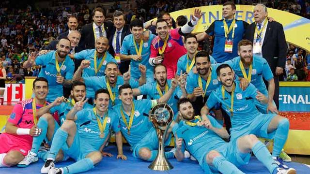 Movistar Inter reinó en europa por segundo curso consecutivo