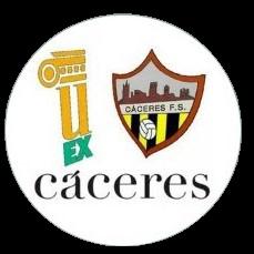 Escudo UEx Cáceres FS